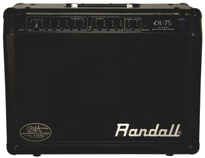 Randall Kirk Hammett Signature 1 x 12″, 75 watt Combo AMP with 2-channel
