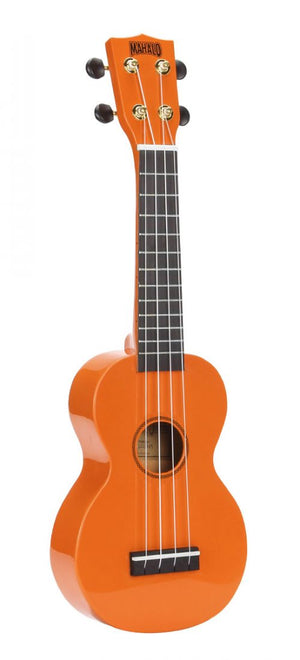 Mahalo Rainbow Series Soprano with Carry Bag, Orange