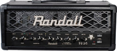 Randall RD20H-U 20 W 2 Channel All Tube Guitar Amplifier Head with Footswitch
