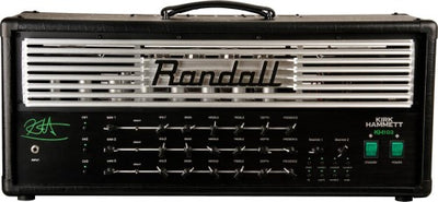 Randall KH103-U 3 Channel MIDI Mode 100W Kirk Hammett Signature Tube Guitar Amplifier Head