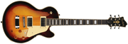 Hagstrom Super Swede Electric Guitar, Vintage Sunburst