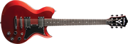 Washburn Idol WIS26MRK USA Duncan with VCC Control Electric Guitar with Gig Bag, Metallic Red Copper