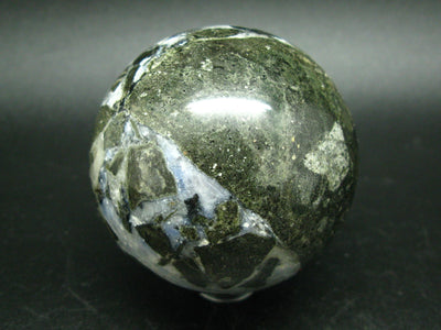Canadian Treasure from the Earth!! Hackmanite Sphere From Mont Saint Hilaire, Quebec, Canada - 2.4''