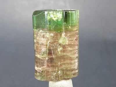"Rare Watermelon Tourmaline Crystal From Brazil - 0.9"" - 19.4 Carats"