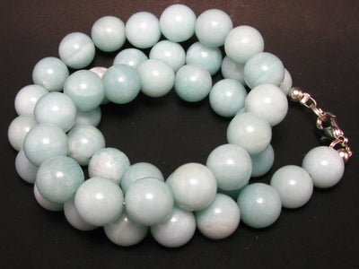 Azumar Round Beads Necklace From USA - 19""