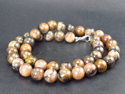 Andalusite (Variety of Chiastolite) Necklace from China - 18""