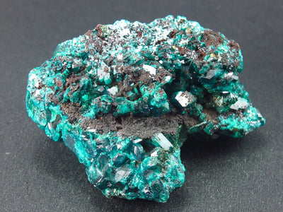 Very Nice Dioptase Cluster from Congo - 2.2""