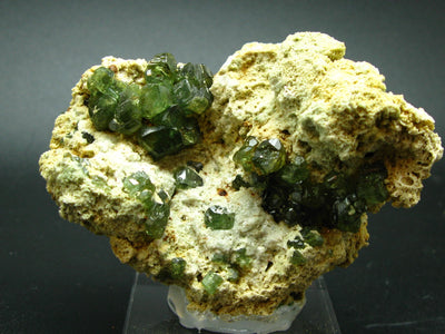 Fantastic Demantoid Garnet cluster from Madagascar - 3.7""