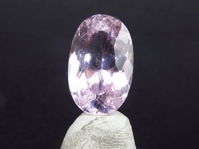 Gem Pink Kunzite Spodumene Facetted Cut Stone From Brazil - 8.55 Carats