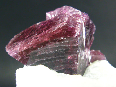 Gem Red Spinel Cristals on Quartz Matrix from Asia - 3.8""