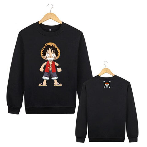 One Piece: Sweater Luffy Cartoon Style - Otaku & WRLD™