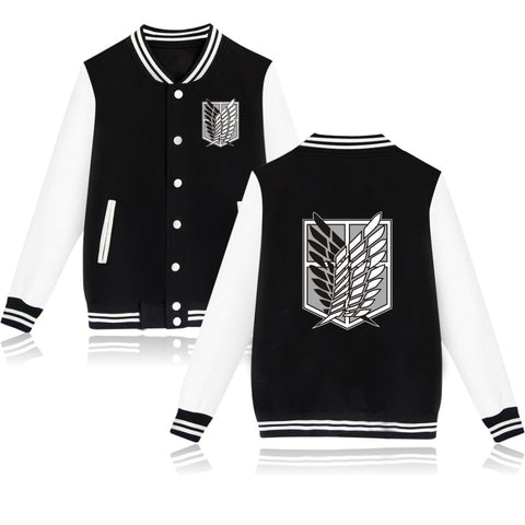 Attack on Titan: Baseball Jacket Survey Corps Logo - Otaku & WRLD™