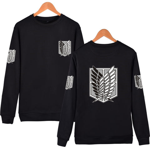 Attack on Titan: Sweater Silver Logo Survey Corps - Otaku & WRLD™