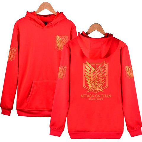 Attack on Titan: Hoodie Golden Logo Survey Corps - Otaku & WRLD™