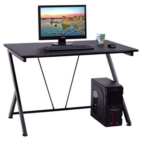 Modern Elite Gaming Desk - Black GamingHeadsetPros.com