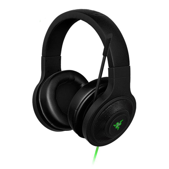 Razer Kraken Essential Over-Ear wired Gaming Headset with 3.5mm Mic GamingHeadsetPros.com