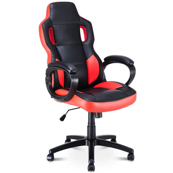 Gaming Chair Executive Office Chair Racing Style Swivel Computer Chair GamingHeadsetPros.com