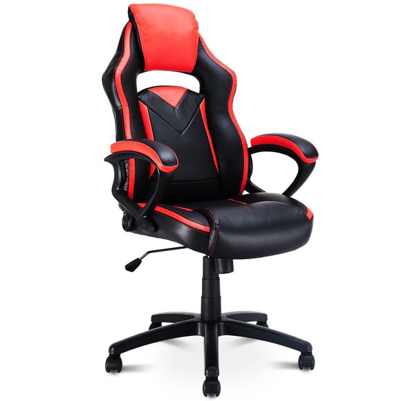 Racing Style Gaming Chair Swivel Office Chair GamingHeadsetPros.com