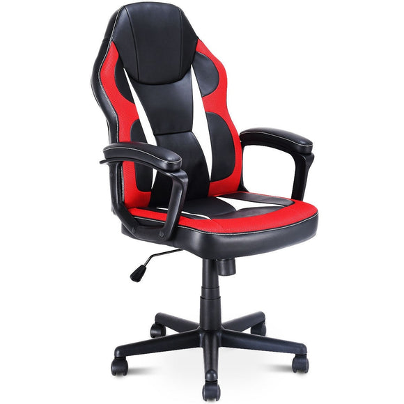 High Back Gaming Chair Racing Style Swivel Office Chair GamingHeadsetPros.com