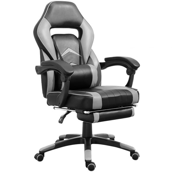 Executive Reclining Swivel Gaming Chair High-Back w/ Footrest GamingHeadsetPros.com