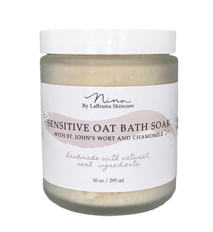 sensitive oat soak jar