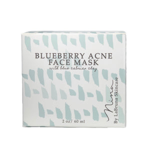 blueberry acne mask box