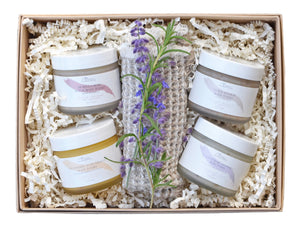 body polish sample gift kit