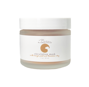 Circulation Mask with Orange Peel and Moroccan Clay