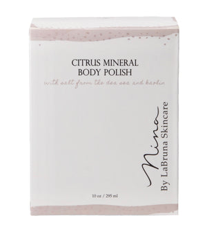 citrus mineral body polish box