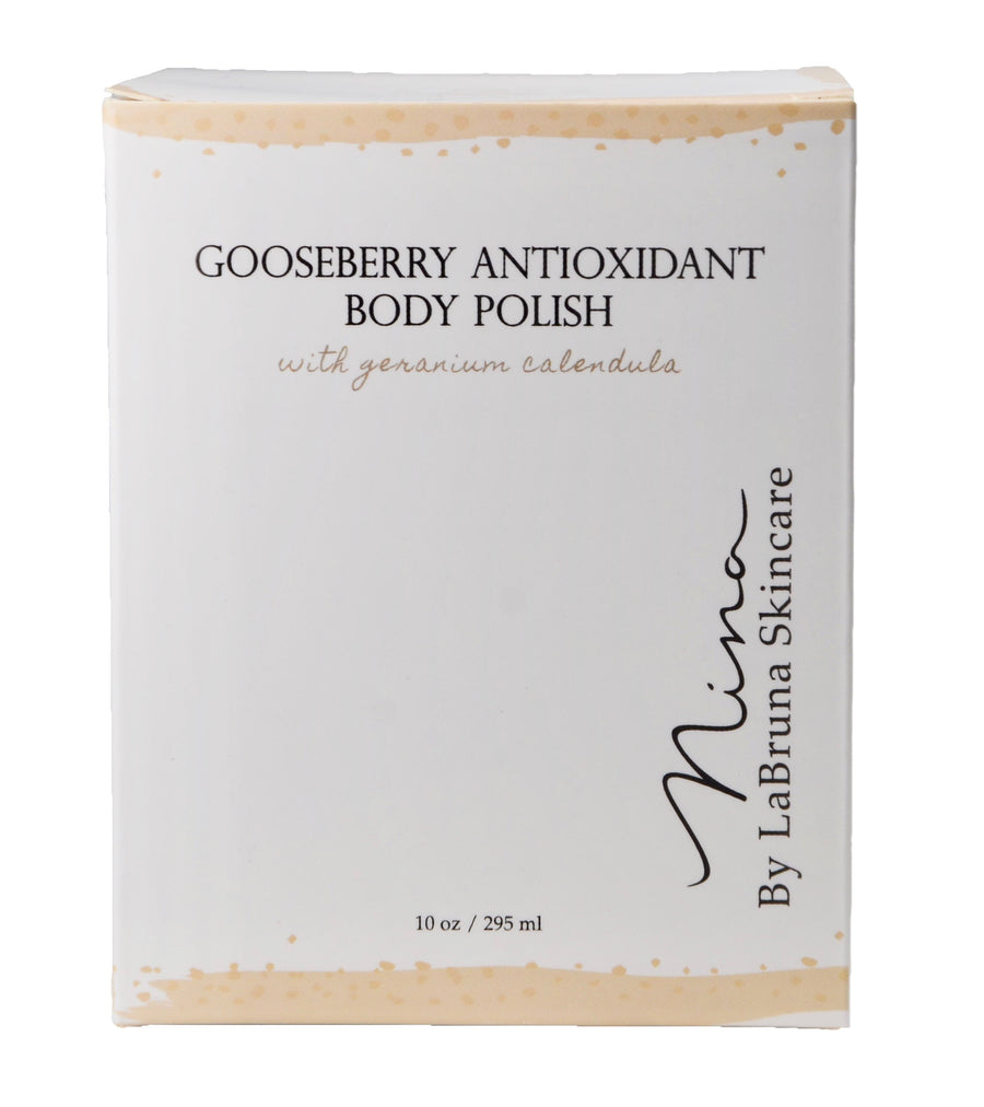gooseberry antioxidant body polish jar