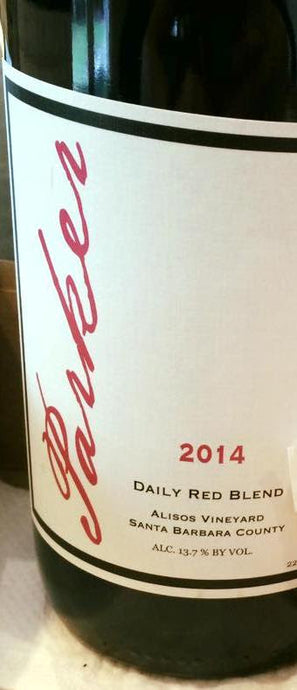 2014 Parker Daily Red Blend, Alisos Vineyard