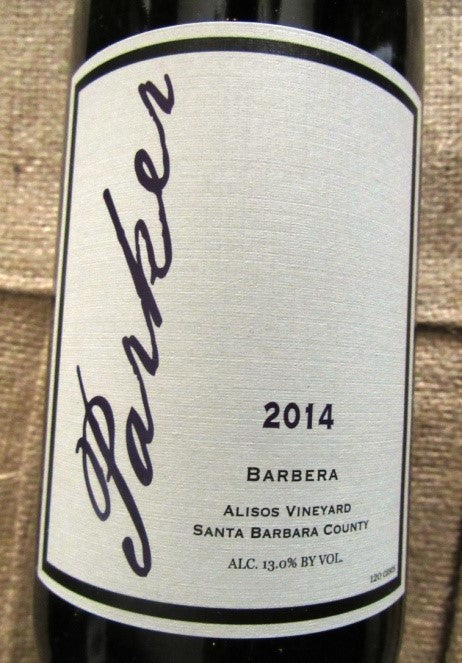 2014 Parker Barbera Alisos Vineyard