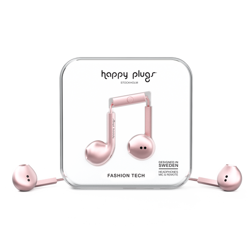 Auriculares Happy Plugs | Earbud Plus Deluxe Edition