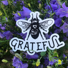 Load image into Gallery viewer, Bee Grateful Die-Cut Vinyl  Sticker Decal