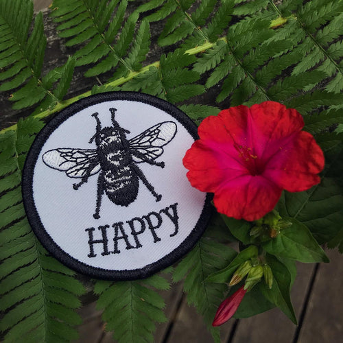 Bee Happy Patch