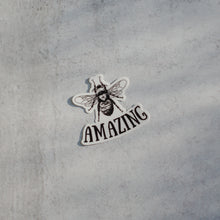 Load image into Gallery viewer, Bee Amazing Die-Cut Vinyl Sticker Decal