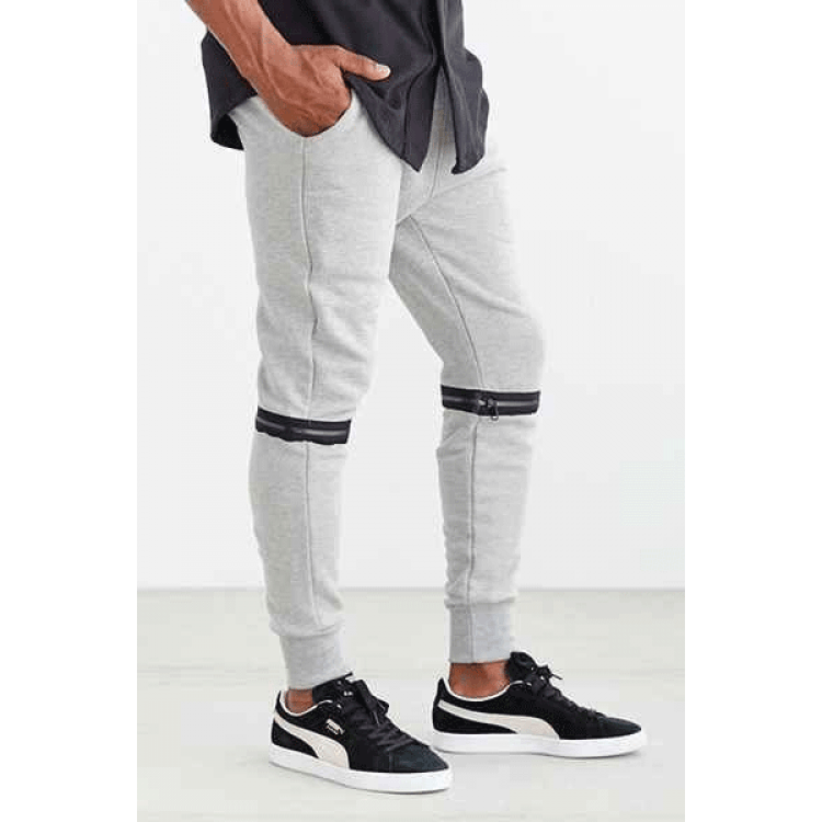 White convertible Trouser - Sports Blue