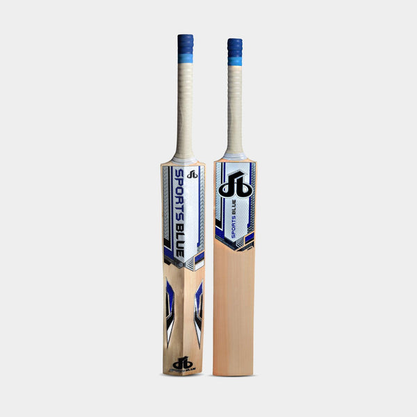 Sports Blue Cricket Bat -EW (Grade 1 player's) Echo Pro