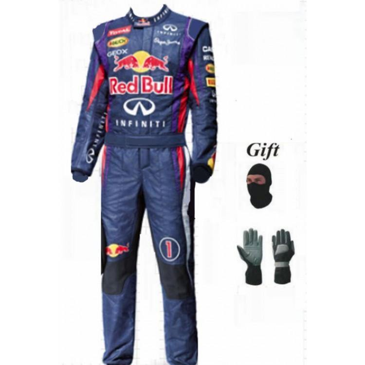 Redbull CIK/FIA Suit - Sports Blue