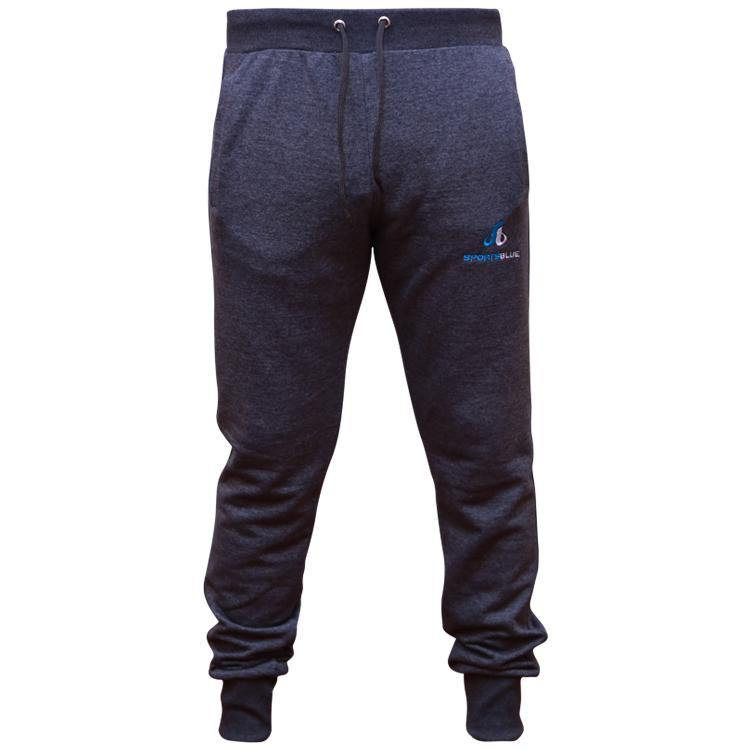 Sports Blue Men's Tapered Jogger Pants - Grey - Sports Blue