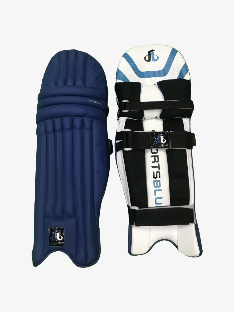 Sports Blue Cricket Batting Pads (leg guard) - Men's size - BLUE - Sports Blue