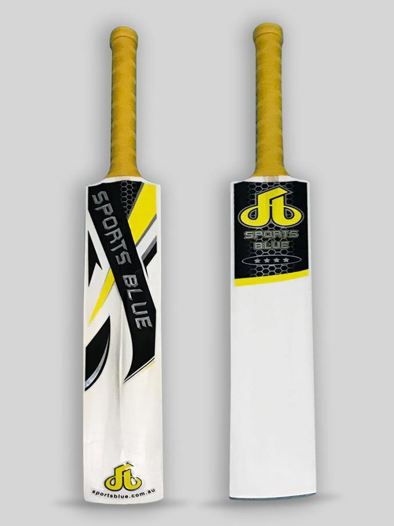 Sports Blue Indoor Cricket Bat - Yellow - Sports Blue