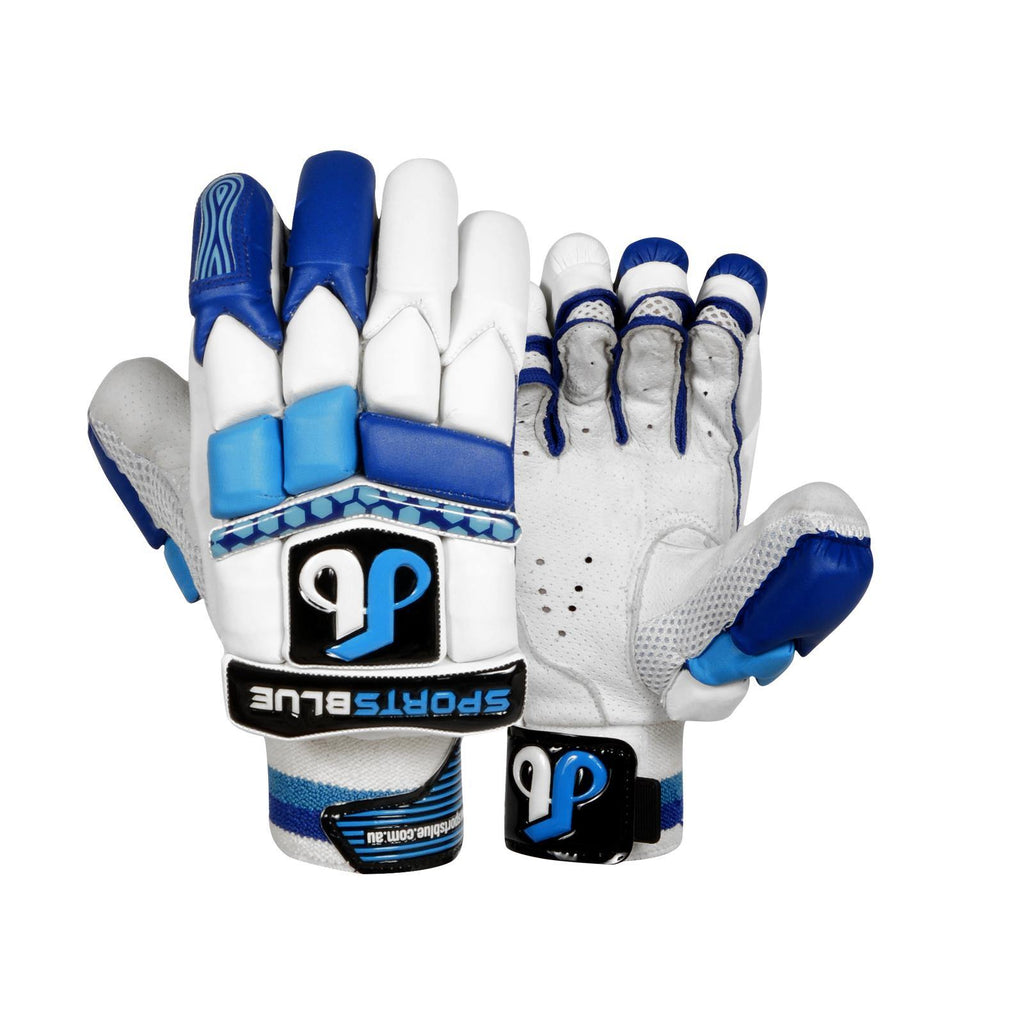 Sports Blue Cricket Batting gloves – (Men's Size) – Blue Star