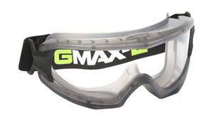 Gmax Goggle clear, vented, splash protect