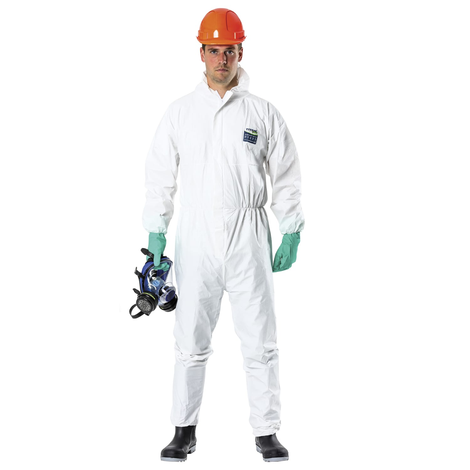 Spraysuit 380 coverall laminate white CAT III L