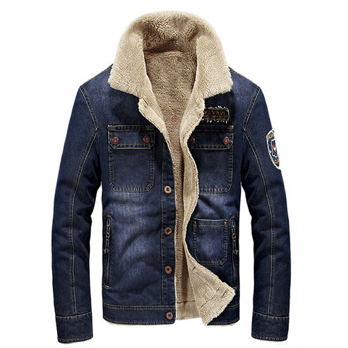 Stand Collar Cotton Casual Pocket Men's Jackets Coat
