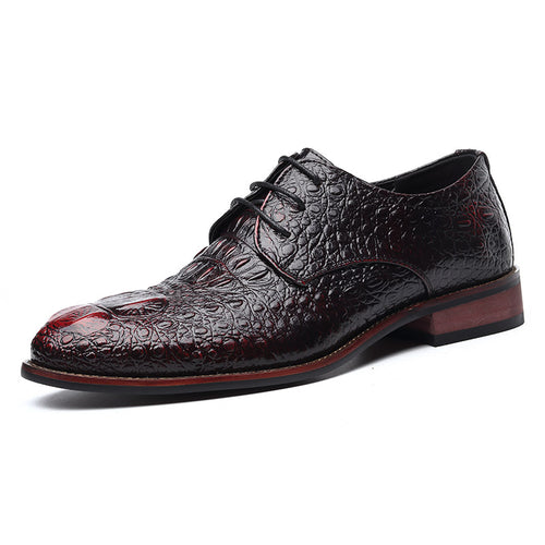 Crocodile Business Leather Men's Formal Shoes