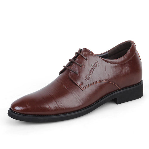 Pure Color Soft Surface Increase Within Men's Oxfords