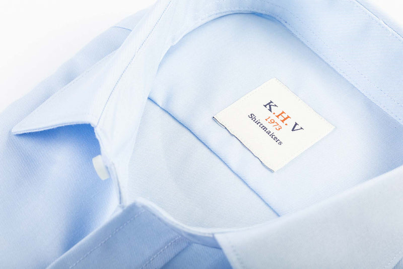 Ice Blue - K.H.V. 1973 Basic - Slim fit