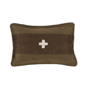SWISS ARMY LUMBAR PILLOW COVER